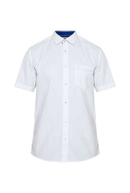 Lawman White Short Sleeve Casual Shirt