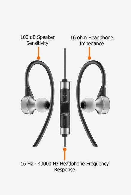 RHA MA750i In the Ear Headphone Black