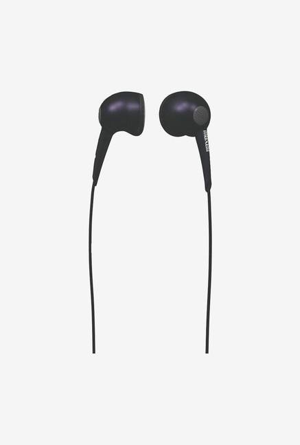Maxell EB In the Ear Headphone Black