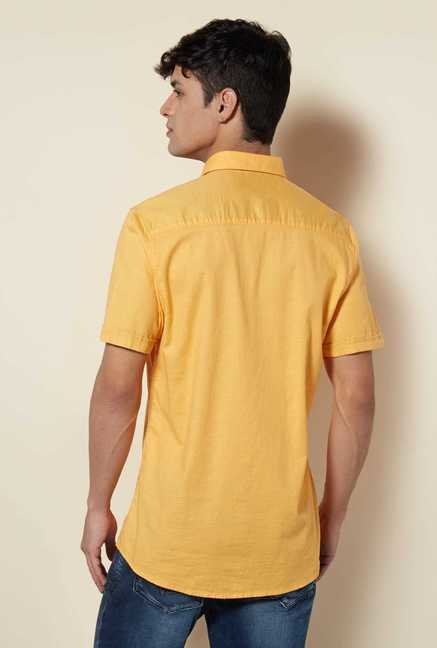 Lawman Mango Short Sleeve Casual Shirt