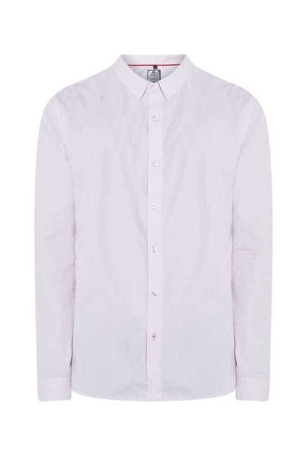 Lawman Pink Full Sleeve Casual Shirt