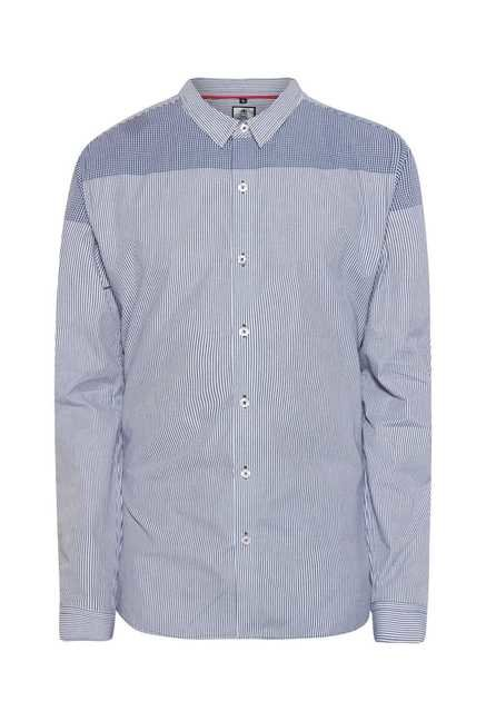 Lawman Blue Full Sleeve Casual Shirt