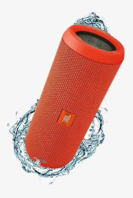 JBL Flip3 Bluetooth Speaker Orange
