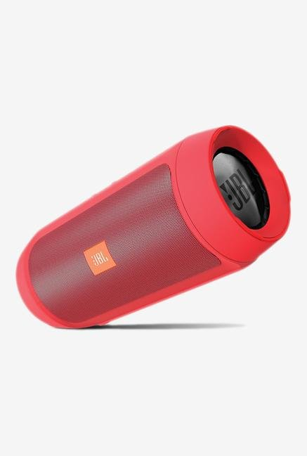 JBL Charge2+ Bluetooth Speaker Red