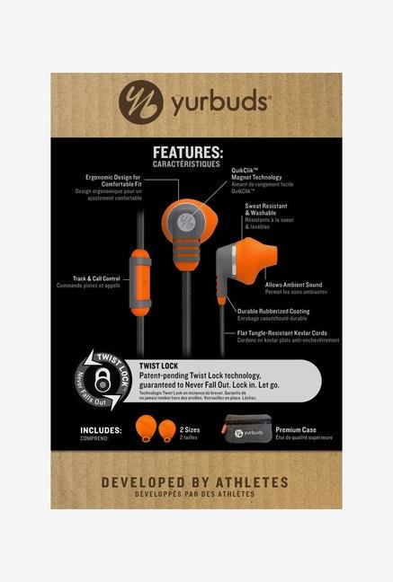 JBL Venture Talk In-ear Headphones Orange/Grey