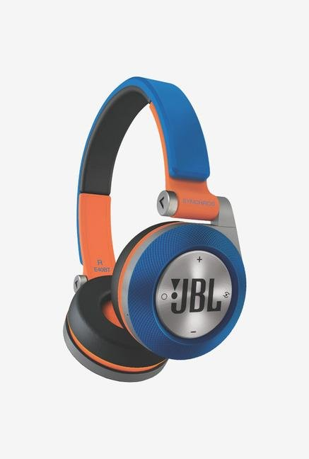 JBL Synchros E40BT On-Ear Headphones Blue/Orange