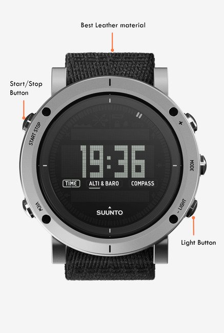 SUUNTO Essential Collection Smart Watch Stone