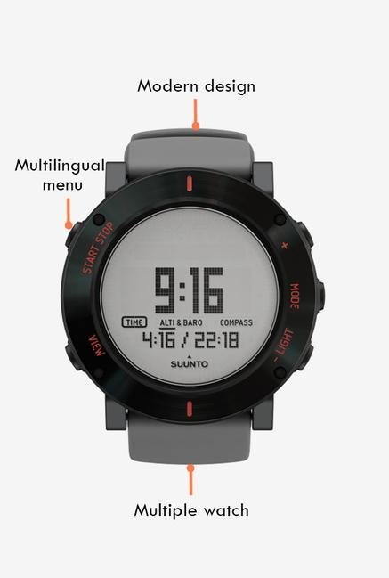 SUUNTO Core Smart Watch Grey Crush