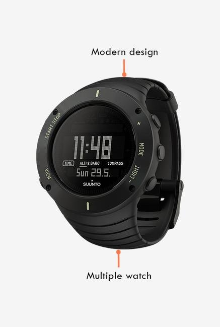 SUUNTO Core Smart Watch Ultimate Black