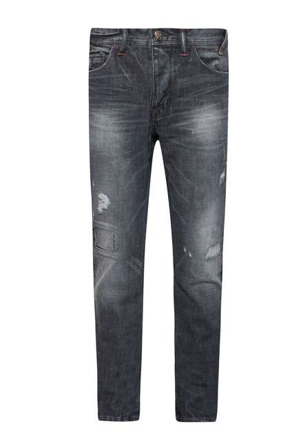 celio* Grey Tapered Fit Jeans