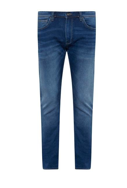 celio* Blue Straight Fit Jeans