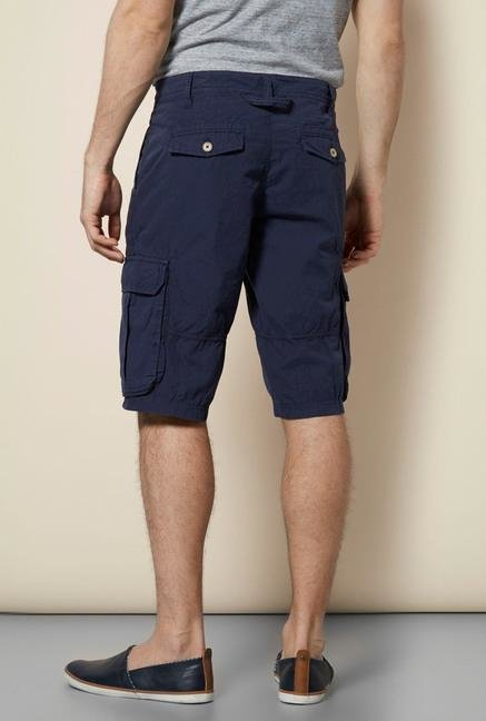 celio* Dark Blue Stone Shorts