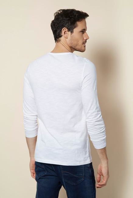 celio* White Snug Fit T Shirt