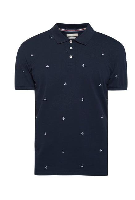 celio* Navy Polo T Shirt