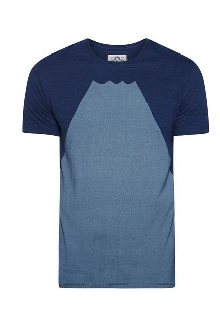 celio* Indigo Cotton T Shirt