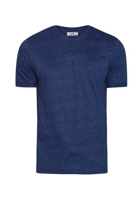 celio* Indigo Printed Regular Fit T Shirt