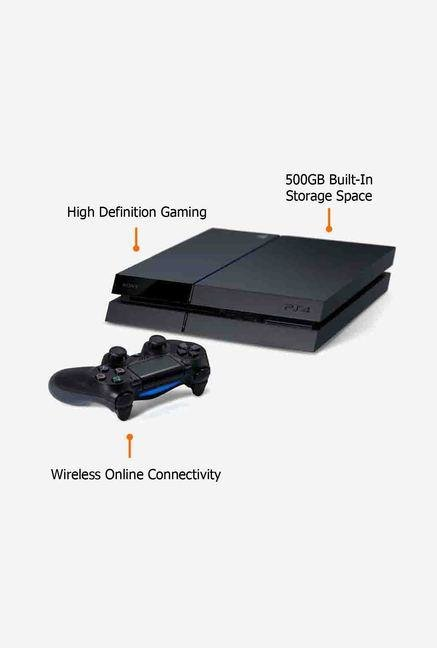 Sony Entertainment 500GB PlayStation 4 Game Console Black
