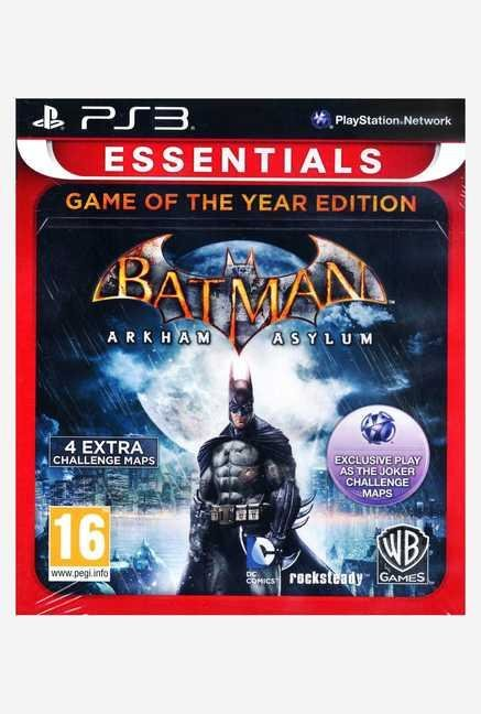 Warner Brothers Batman: Arkham Asylum GOTY Edition(PS3)
