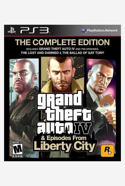 Rockstar games Grand Theft Auto IV Complete Edition (PS3)