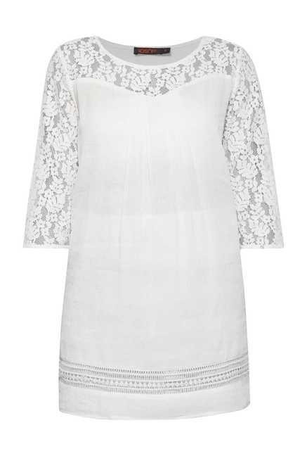 109 F Birch Embroidered Tunic
