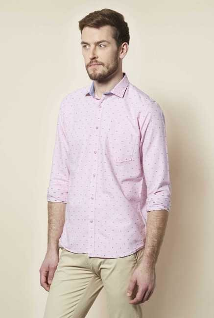 Easies Pink Dot Print Shirt