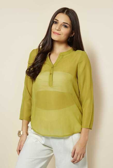 109 F Lime Solid Top