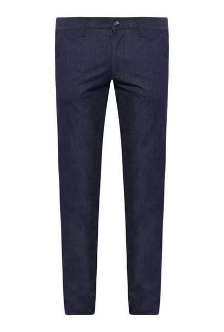 Easies Navy Slim Fit Trouser