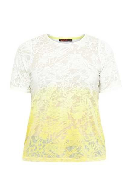 109 F Yellow Shaded Top