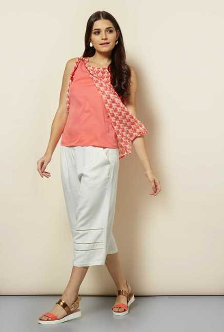 109 F White Polyster Top
