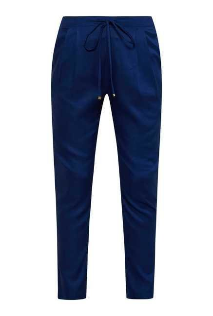 109 F Navy Drawstring Trouser