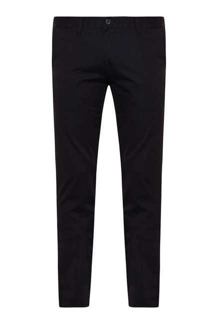 Easies Black Slim Fit Trouser
