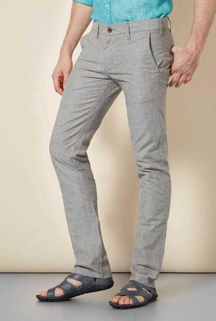 Easies Wood Smoke Slim Fit Trouser