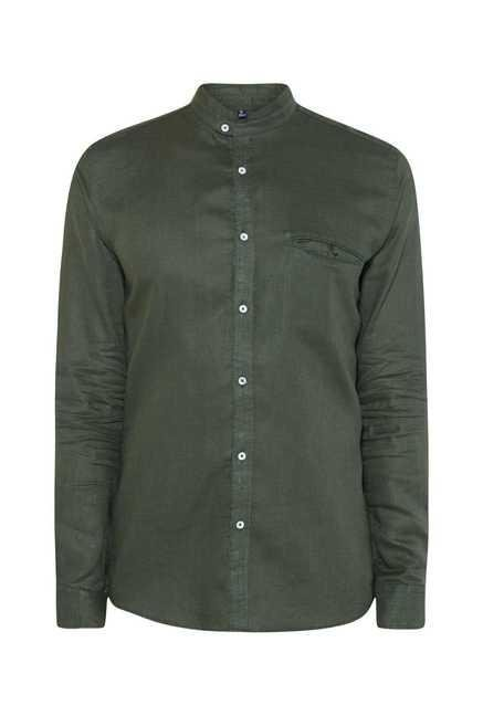Easies Green Cotton Shirt