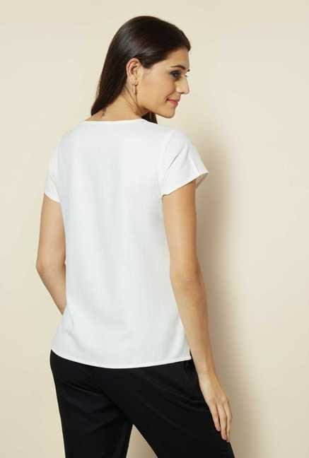 109 F White & Black Top