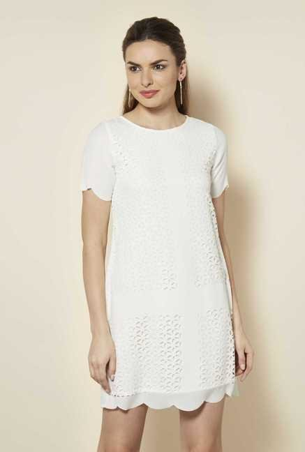 109 F Birch Crochet Casual Dress