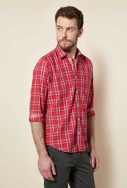 Easies Red Checked Shirt