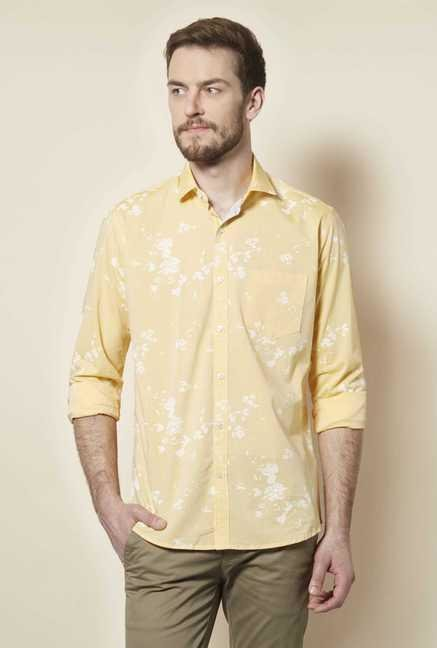 Easies Golden Printed Shirt