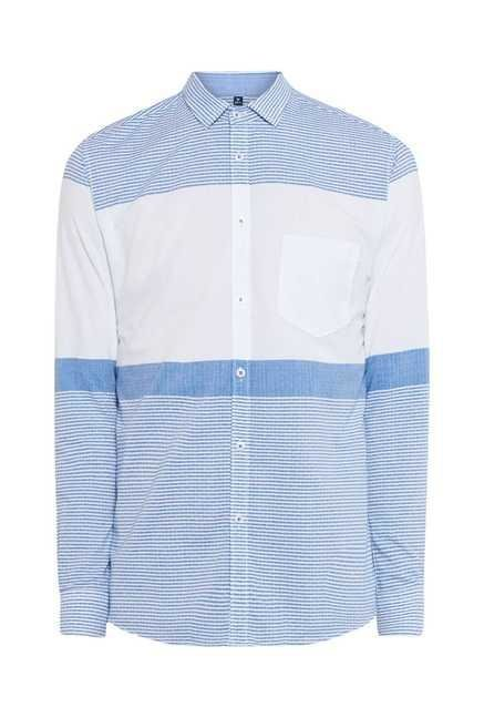 Easies Blue Stripe Shirt