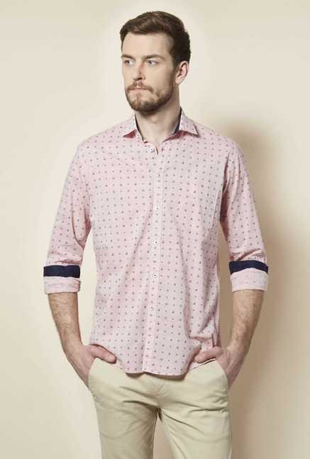 Easies Pink Cotton Shirt
