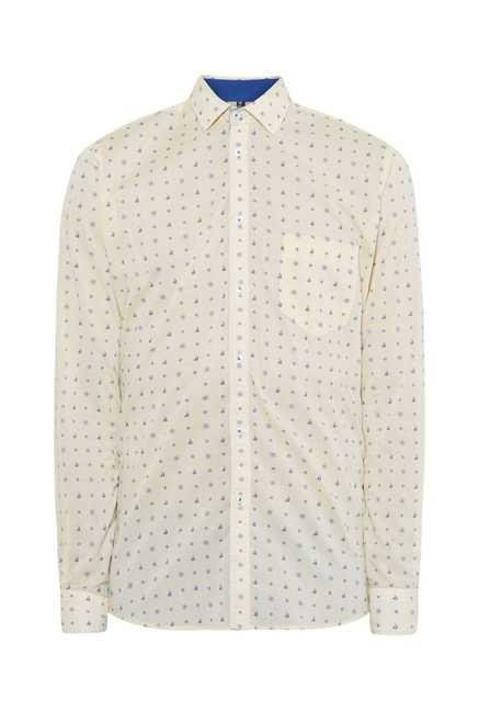 Easies Yellow Cotton Shirt