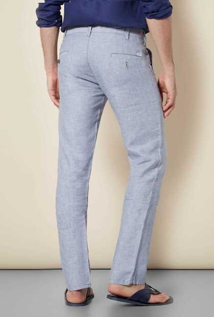 Easies Cement Slim Fit Trouser