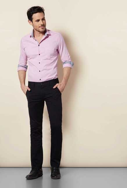 Easies Pink Slim Fit Shirt