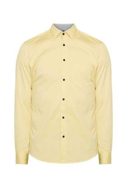 Easies Lime Slim Fit Shirt