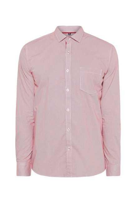 Easies Red Dot Print Shirt