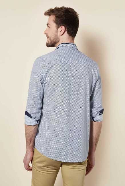 Easies Blue Pure Cotton Shirt