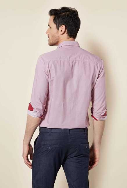 Easies Light Pink Block Print Shirt
