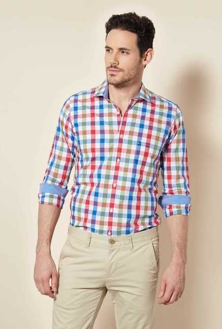 Easies Multicolor Checked Shirt