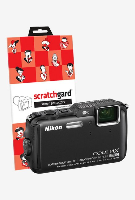 ScratchGard Nikon CP AW120 Ultra Clear Screen Protector