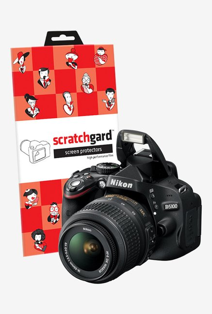 ScratchGard Nikon CP D5100 Ultra Clear Screen Protector
