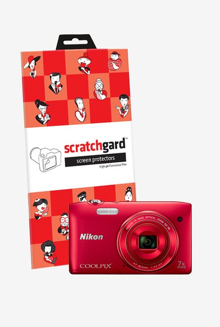 ScratchGard Nikon CP S3500 Ultra Clear Screen Protector
